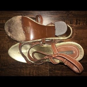 Authentic Louis Vuitton Chunky Heel Sandal